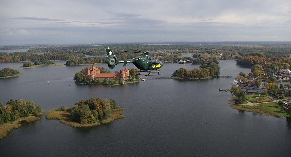 Литовский самолёт нарушил границу с Беларусью