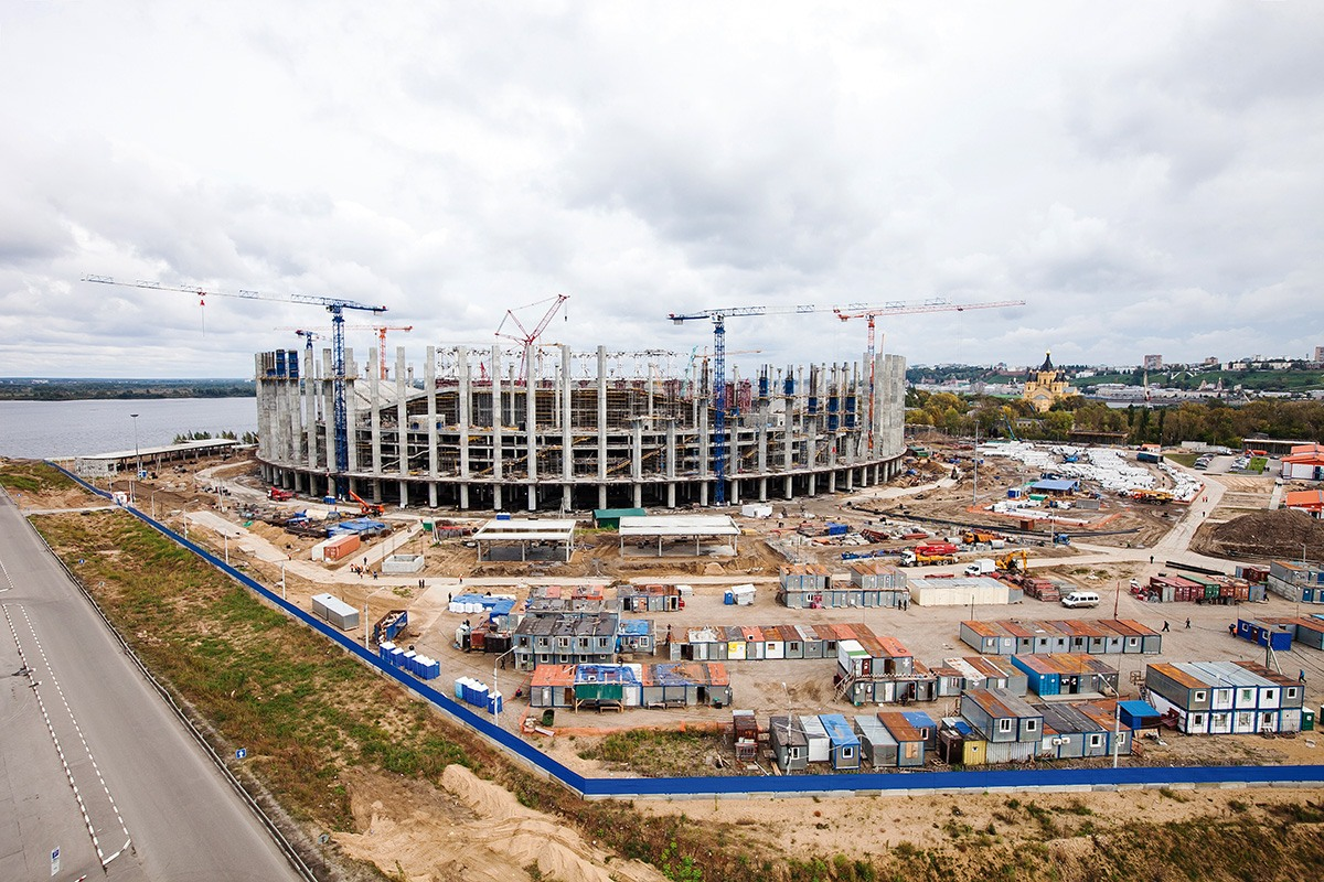 Объявлен аукцион настроительство инфраструктуры для стадиона «Нижний Новгород»