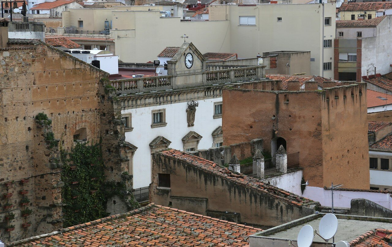 Cáceres, View from cathedral tower