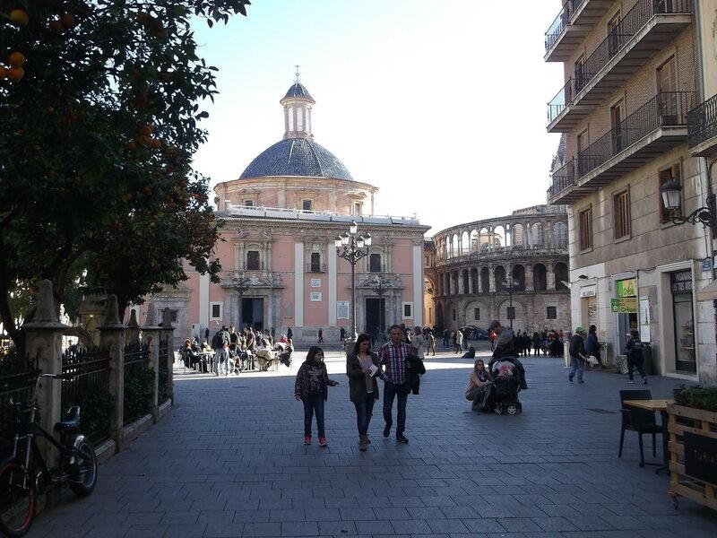 Валенсия. Кафедральная площадь