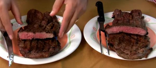 Случается, что выглядит кусок мяса прекрасно, а после жарки его вкус и вид напоминает подошву от