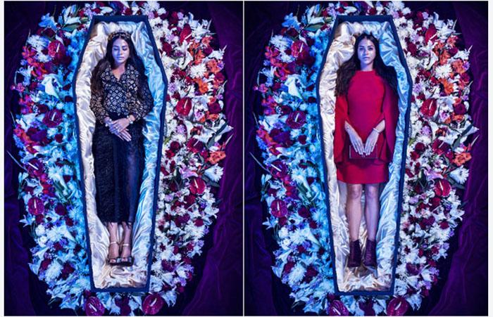 Скандальная коллекция для тех, кто хочет выбрать себе одежду в гроб (6 фото)