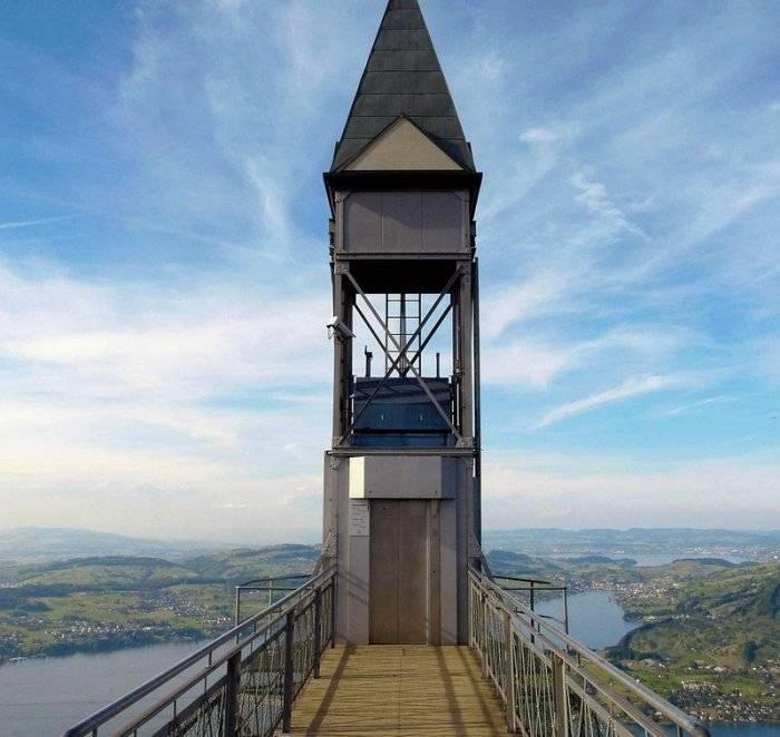 Лифт Хамметшванд – самый высокий открытый лифт в Европе