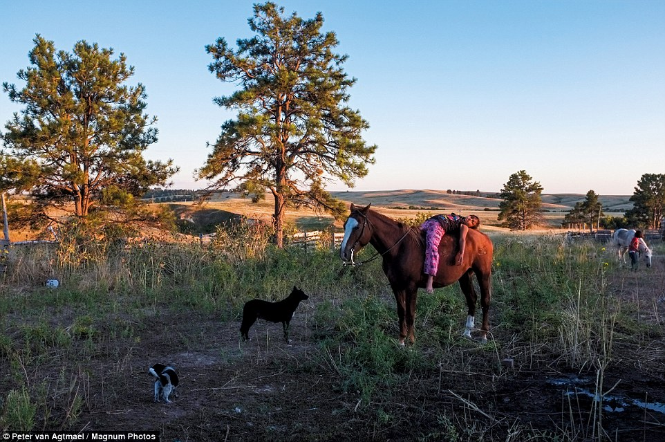 Индейская резервация Пайн-Ридж, Южная Дакота, 2011 год.