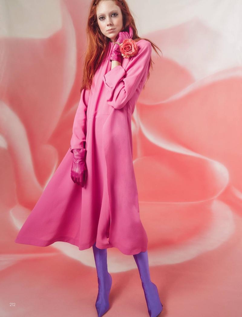 Натали Уэстлинг на обложке Vogue China