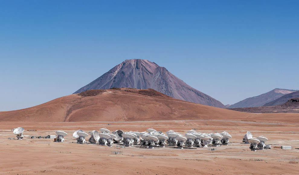 3. Резиденция астрономов в Европейской южной обсерватории, 15 сентября 2008. Ее большая часть н