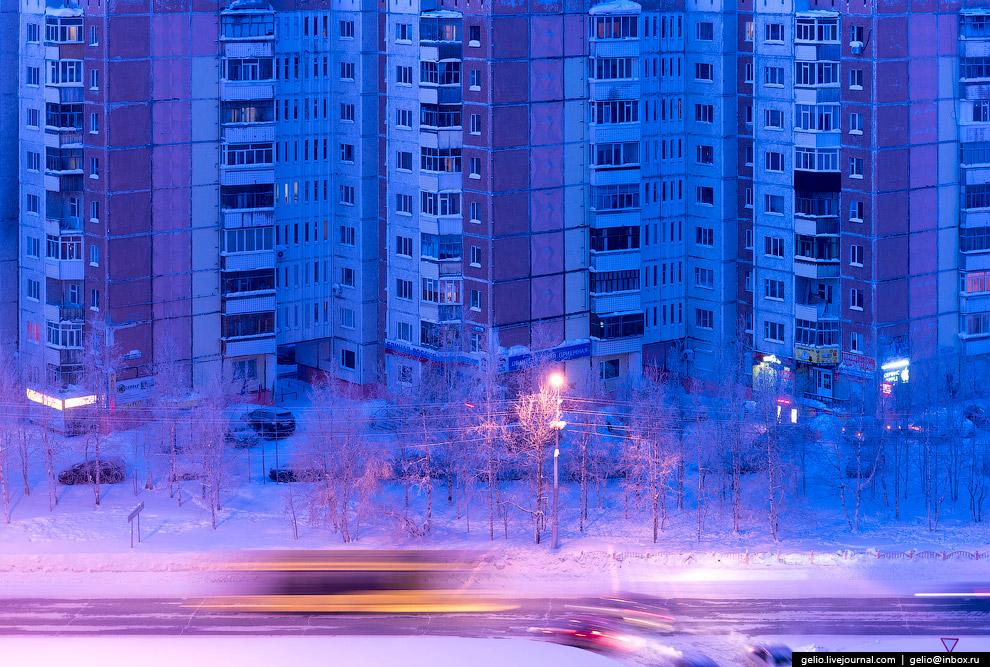 30. Одна из главных магистралей Сургута — проспект Ленина.