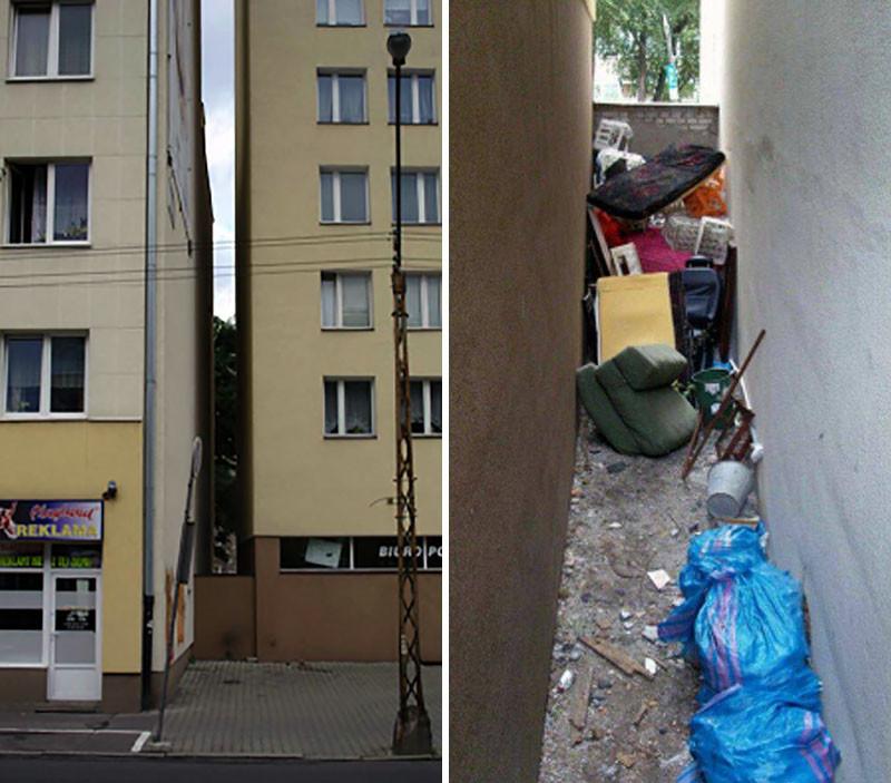 Каково это — жить в самом узком доме в мире (12 фото)