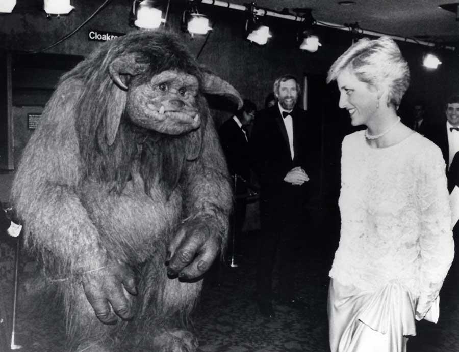 Принцесса Диана на премьере фильма «Лабиринт». После окончания колледжа Патрик завел сразу несколько
