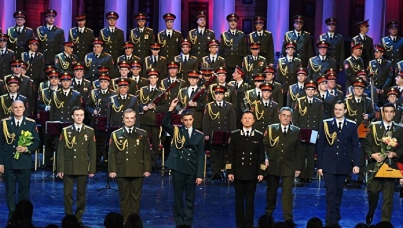 Ансамбль имени Александрова дал концерт вСтамбуле