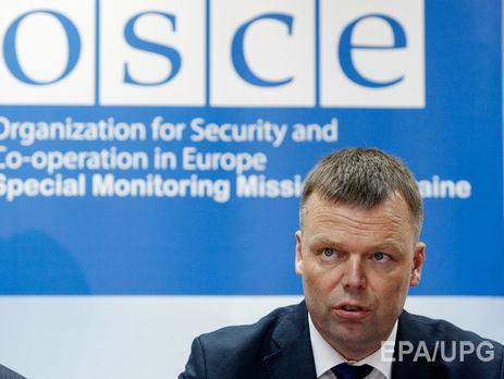 В «ЛНР» около автомобиля наблюдателей произошел взрыв— ОБСЕ