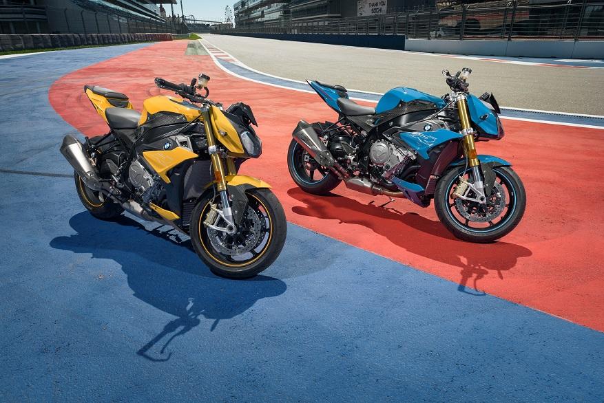 В Российскую Федерацию  привезли всего 7 особых мотоциклов БМВ  S тысяча  RCompetition