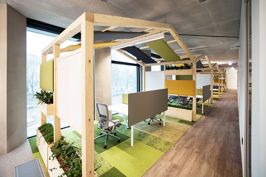 Cosy Microsoft New Offices in Milan