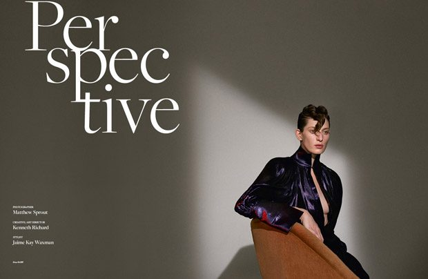 Jennae Quisenberry in Perspective for The Impression Spring 2017 Issue