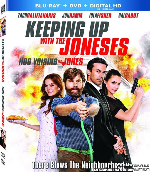 Шпионы по соседству / Keeping Up with the Joneses (2016/BDRip/HDRip)