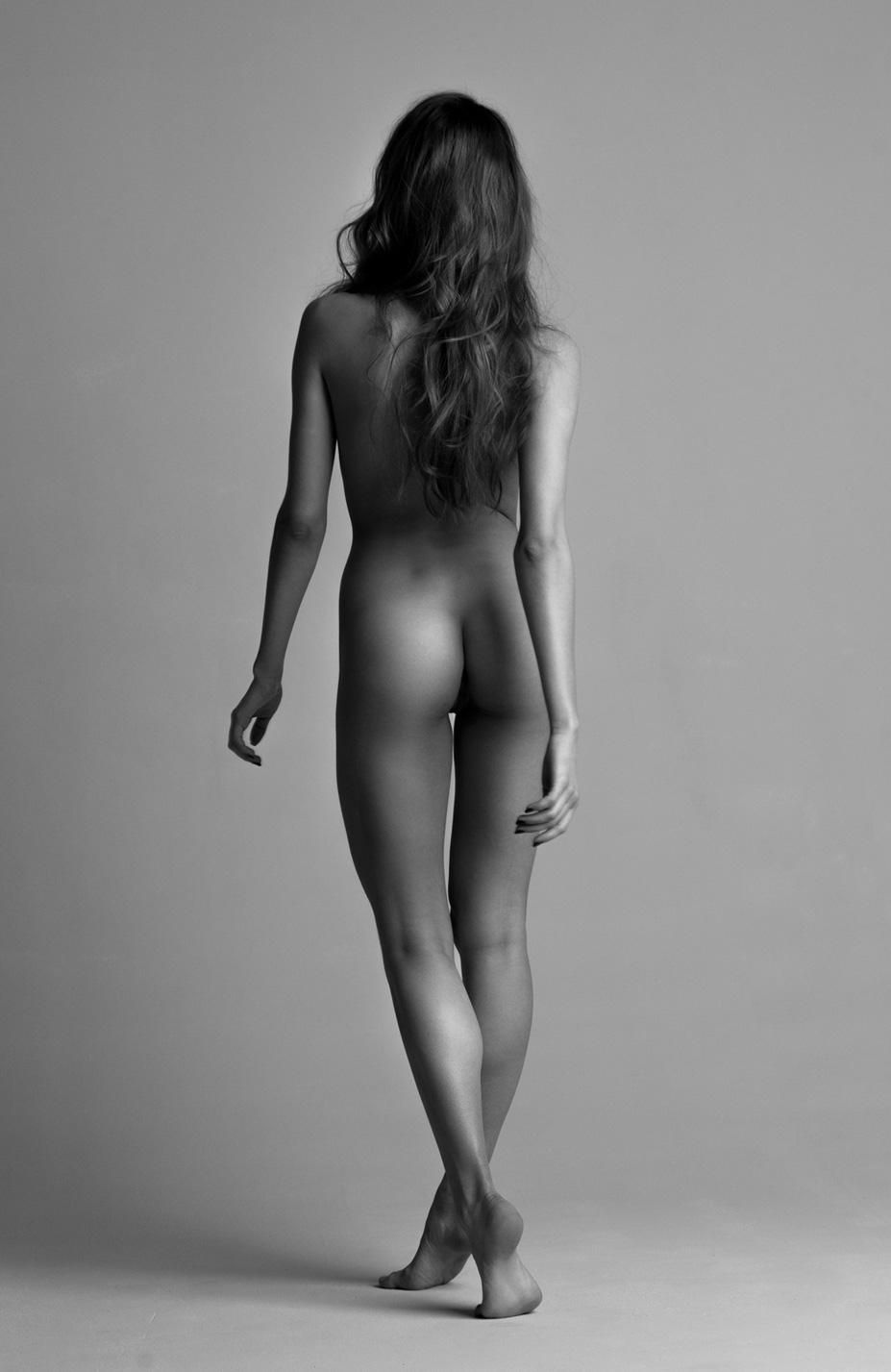 Katya.Aivazova nude by Mikhail Malyugin - Yume Magazine