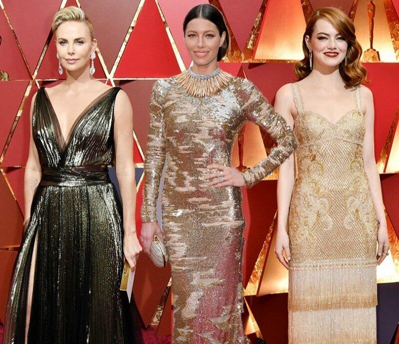 Ювелирные украшения звезд на церемонии «Оскар»