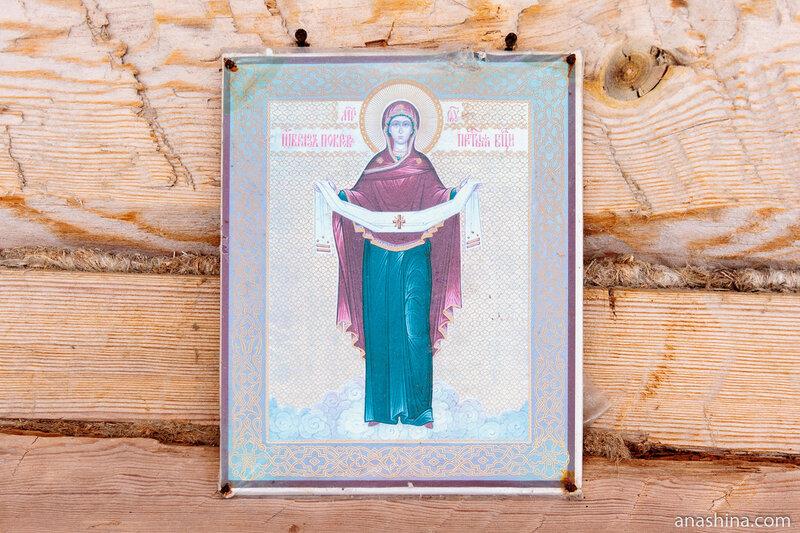 Икона, Покровская церковь,