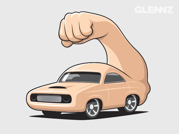 Glennz - 34 nouvelles illustrations droles et decalees !