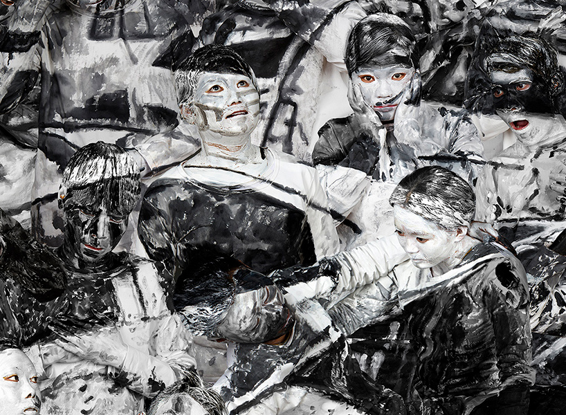 Contemporary Artist Liu Bolin Invests Masterpieces