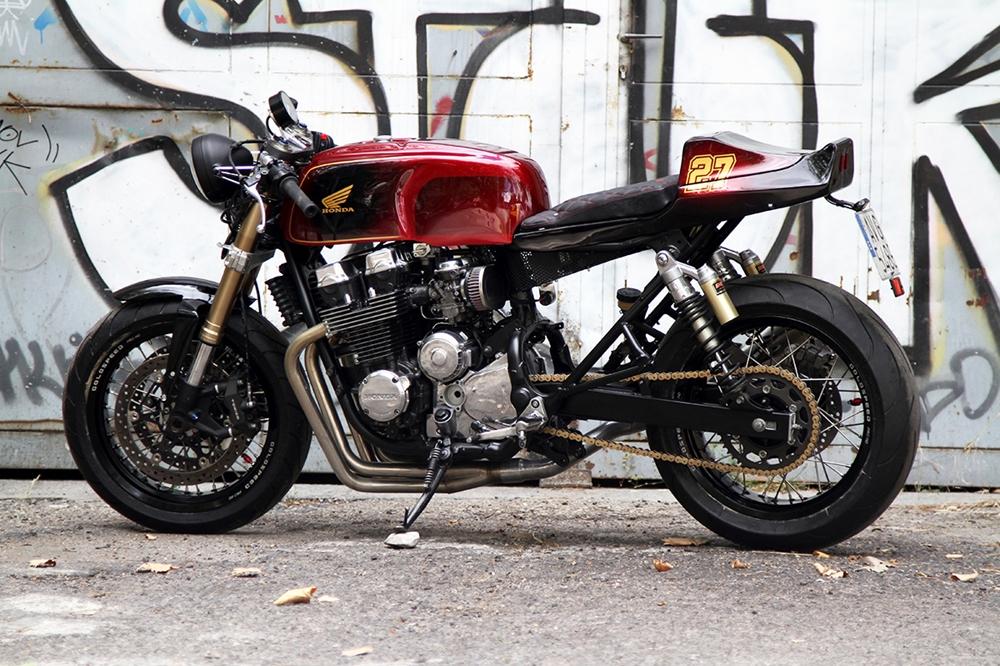 Nitro Cycles: кастом Honda CB750 F2 Wolf
