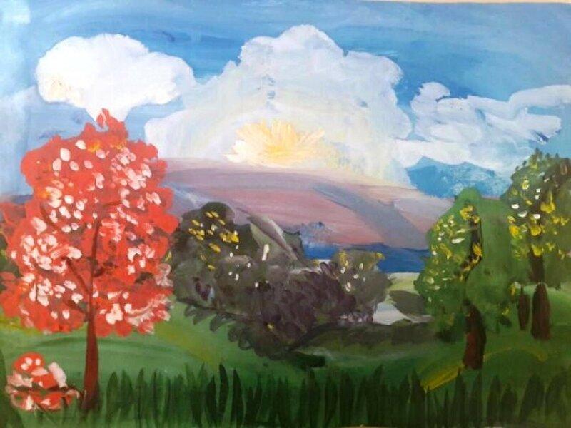 Краски весны - Переволоцкий Егор, 5 лет, Тема -- Рисунок, г. Томск.jpg