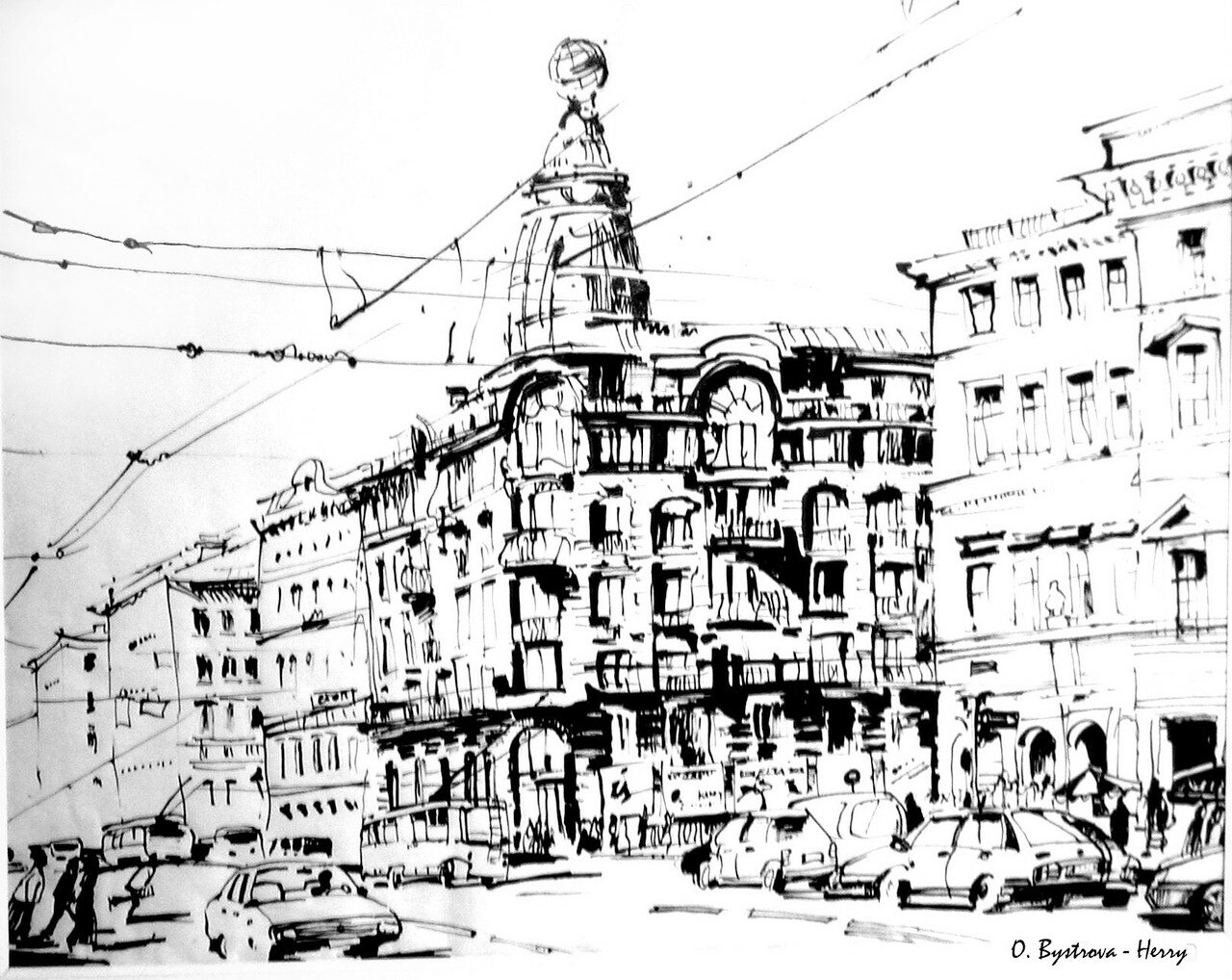 Sankt Petersburg. Nevsky.