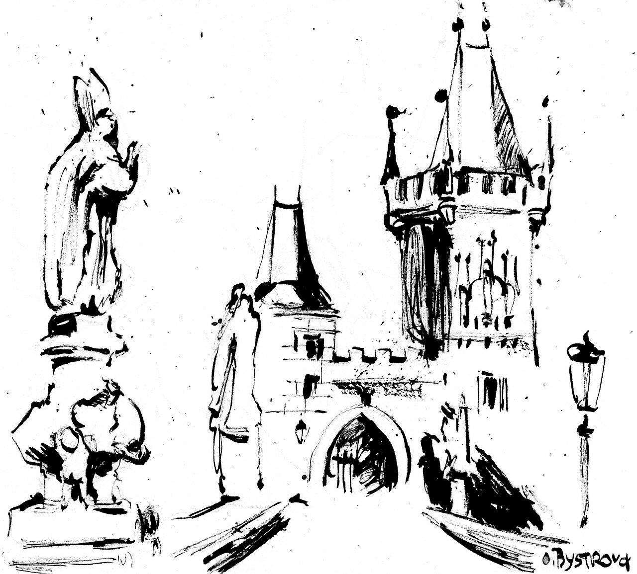Prague. Pont Charles IV