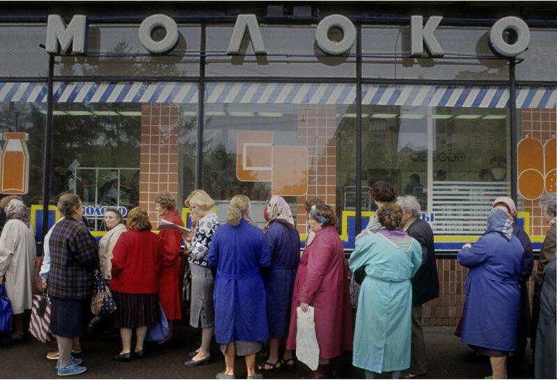 Не стало бурёнок в Москве - появились очереди за молоком!