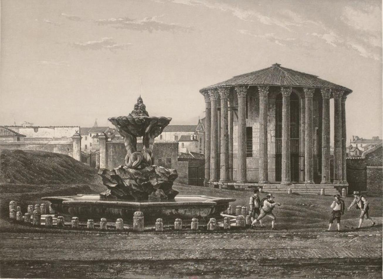 Италия. Рим. Храм Геркулеса Побидителя