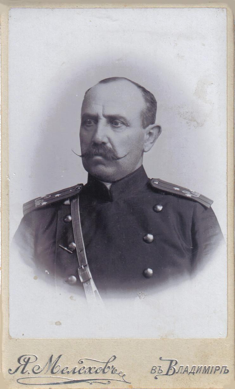 Подполковник Сергей Сергеевич Маньков
