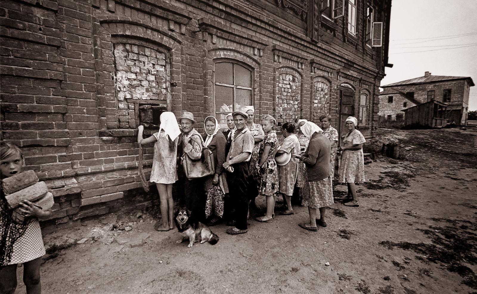 1981. Остров Свияжск. Хлеб