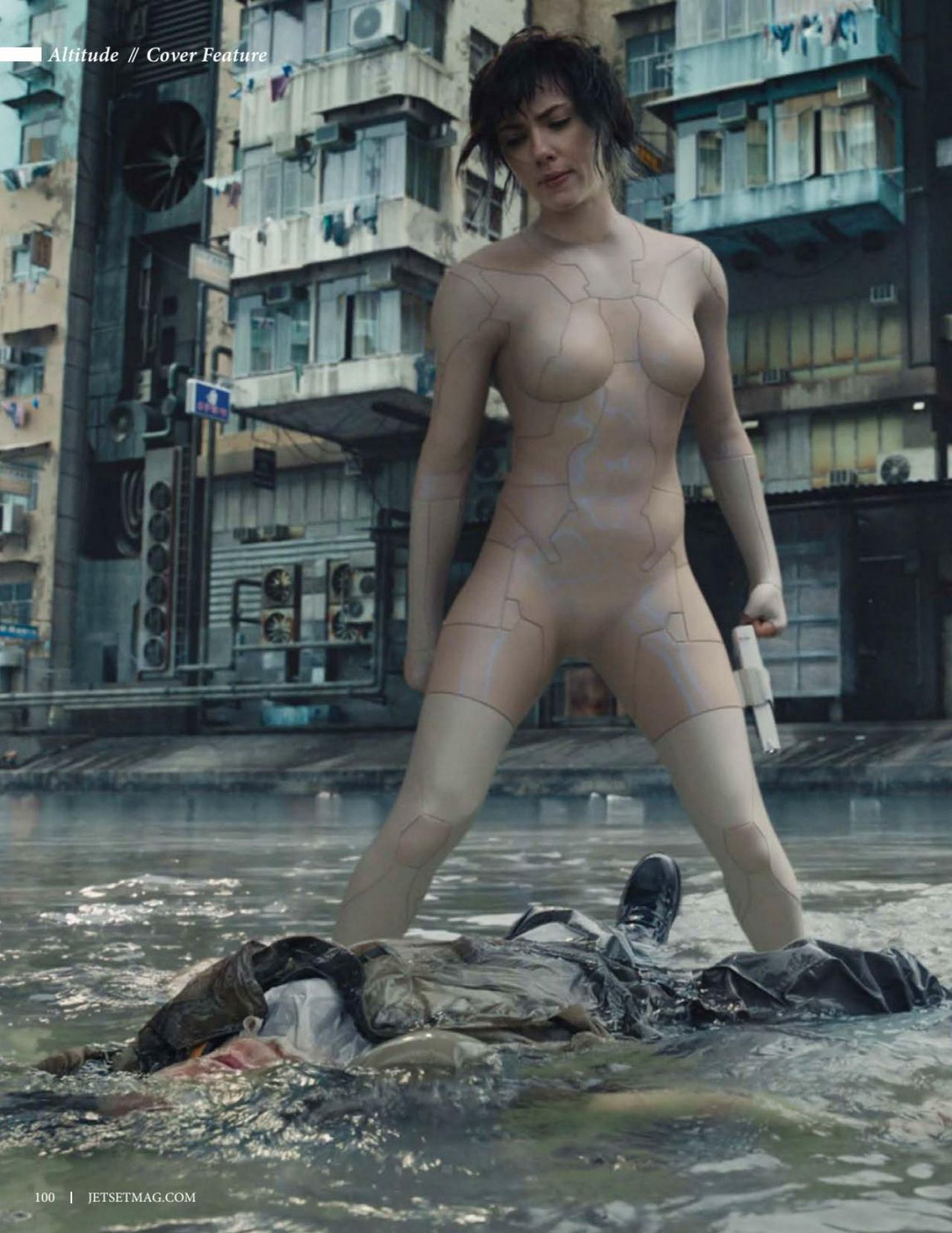 Ghost in the shell nude scene