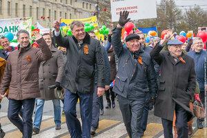 Нижний Тагил,день Победы,парад