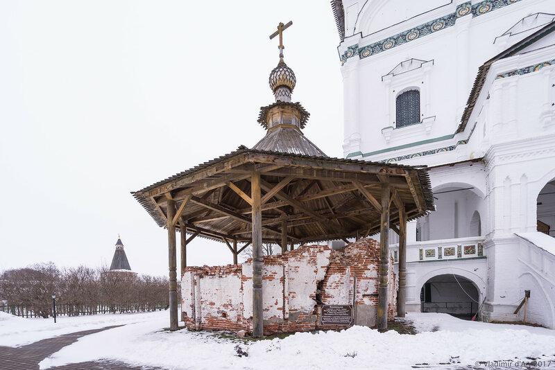 Колокольня. Иосифо-Волоцкий монастырь