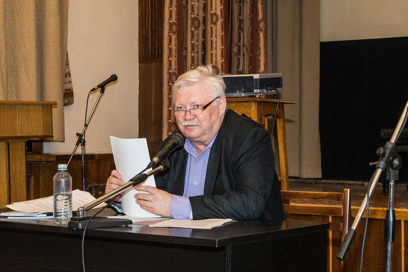 Писатель Вадим Арефьев. ЦДЛ. 25 мая 2017 года.