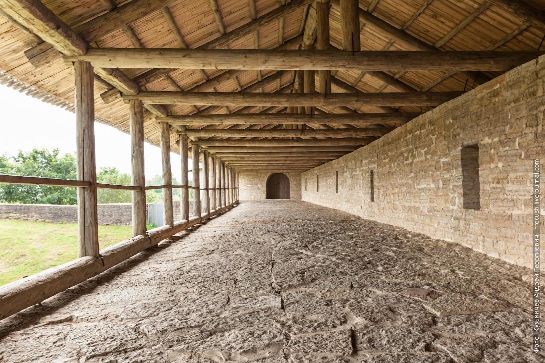 крепостная стена Староладожской крепости