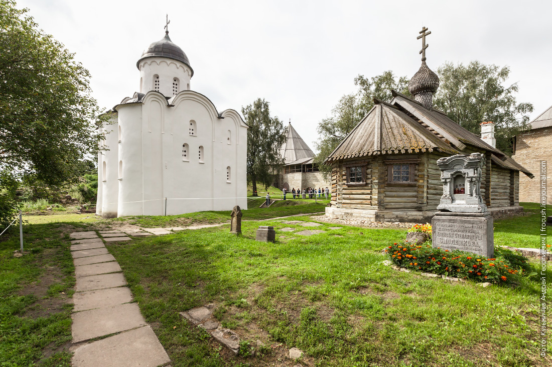 территория Староладожской крепости фотография
