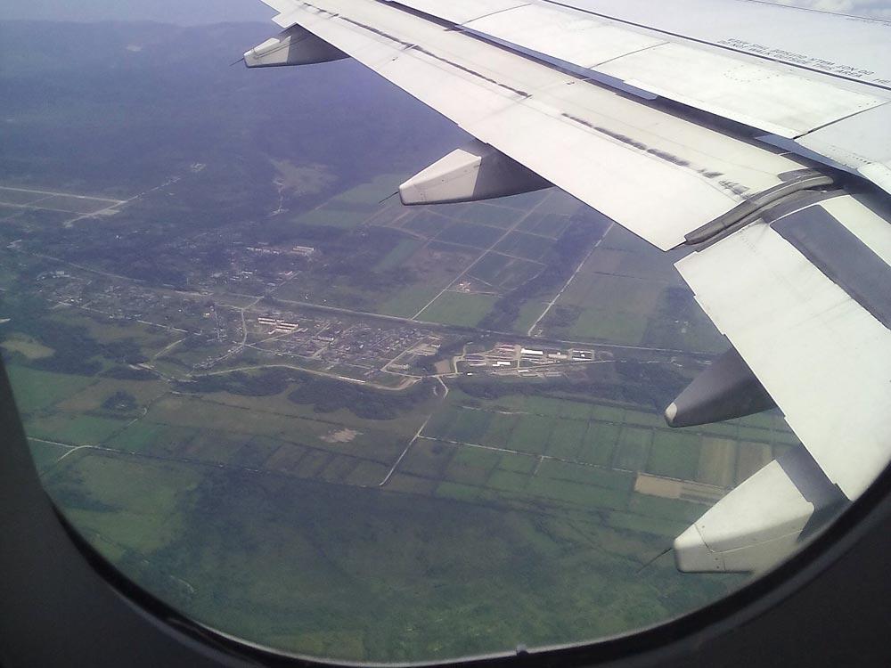 Суснайская долина с самолёта