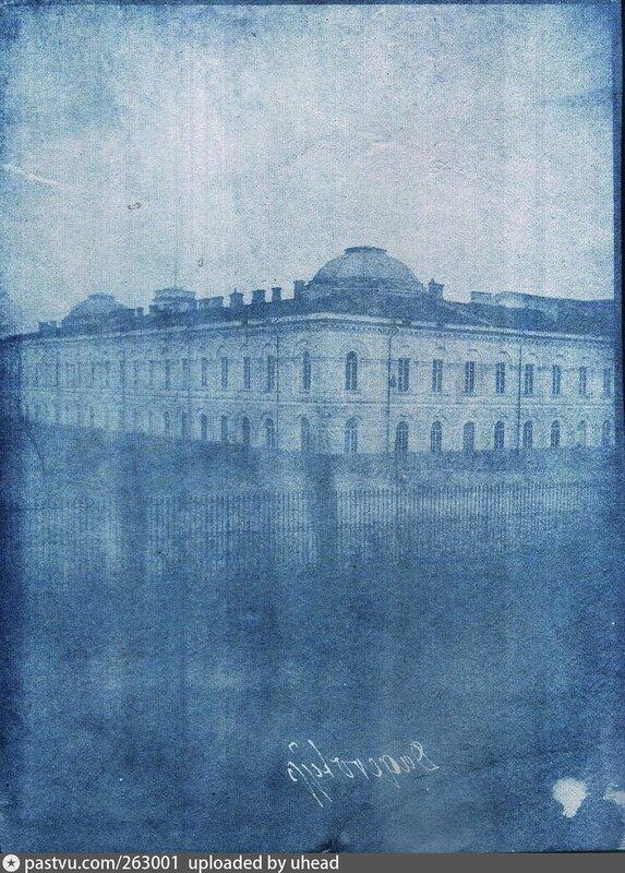 1840-45 Здание флигеля Императорской Академии наук. И.Х.Гамель.jpg