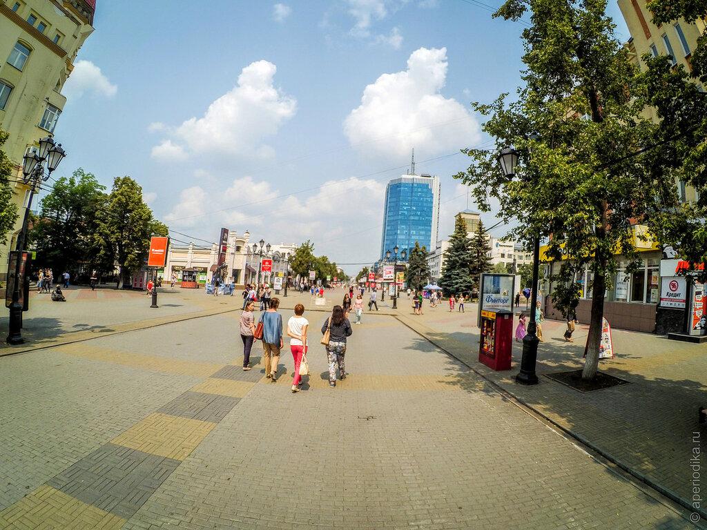 Челябинск. Кировка, пешеходная улица