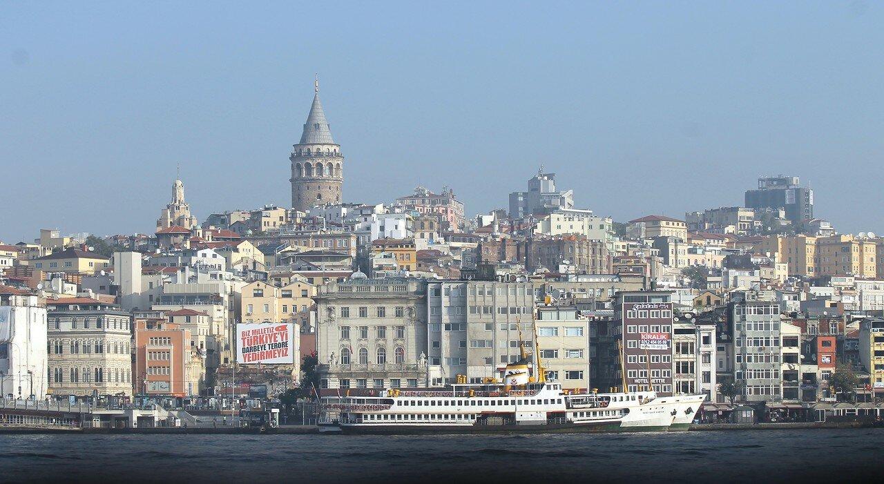 Стамбул. Утро в Эминёню