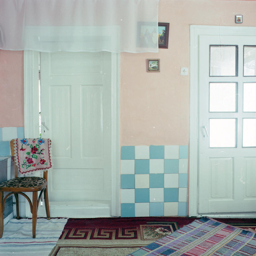 Сельский дом в российской глубинке.