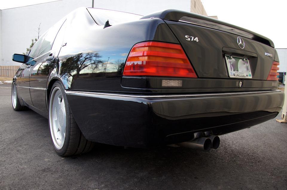 Mercedes-Benz W140 S74 by RENNtech – привет из 90-х