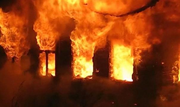 Пожар в личном доме завершился гибелью годовалого ребенка