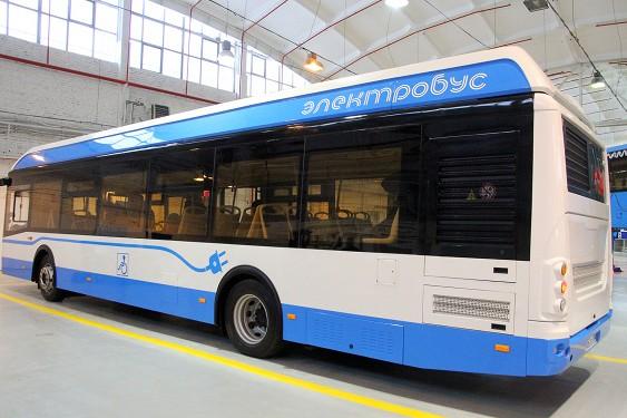 Мосгортранс тестирует новый электробус русского производства