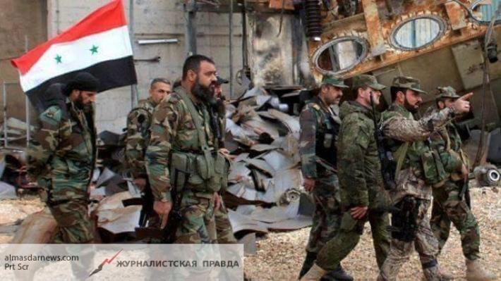 Сирийской армии удалось на100% освободить район Кабун вДамаске отбоевиковИГ