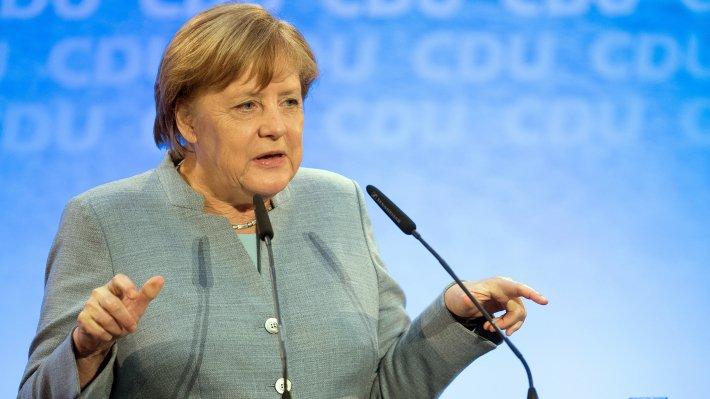 Меркель иТрамп наполях саммита G7 обсудили тему государства Украины