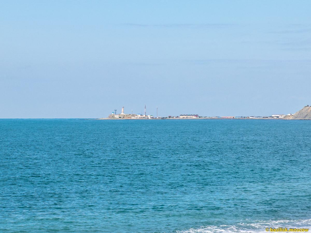Чёрное море. Утриш. Первая лагуна. Октябрь 2016