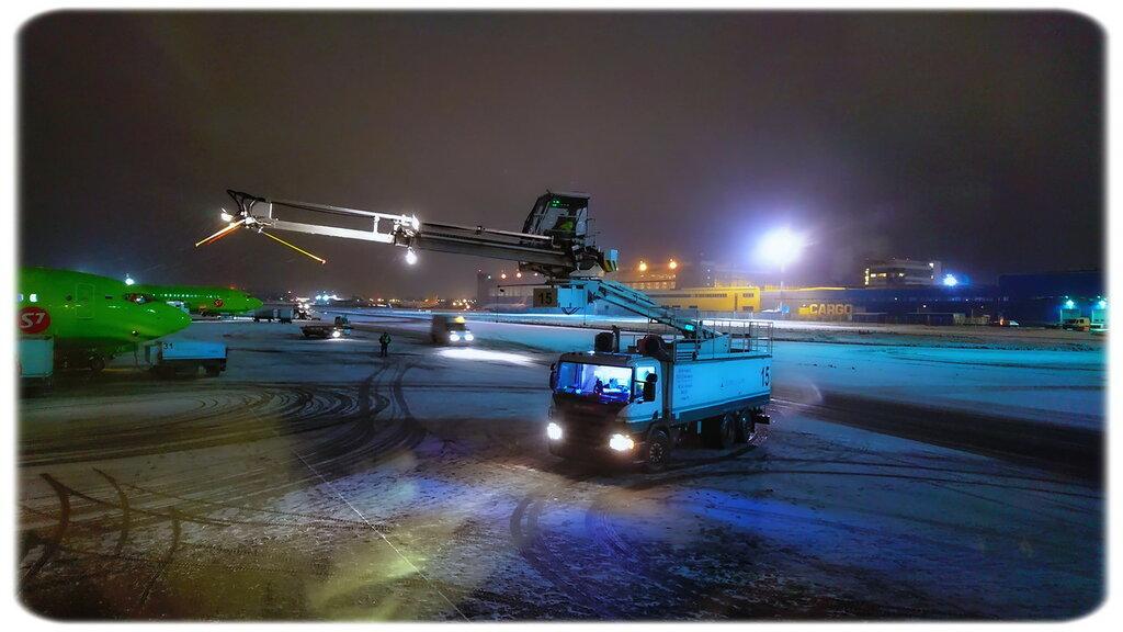 Зима пришла: рейс Москва - Новосибирск - Москва. Фото: Денис Окань